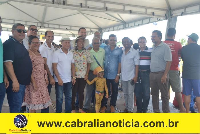 1° dia da etapa Sul-Americana de vôlei de praia em Coroa Vermelha
