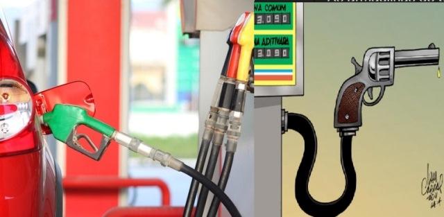 Após gasolina atingir recorde, Petrobras sobe preço mais uma vez, em 1,8%