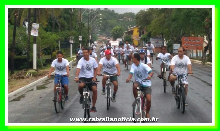 Com passeio ciclístico e plantio de mudas Cabrália comemora o Dia Mundial do Meio Ambiente