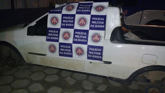 PM em Cabrália prende assaltante, recupera veiculos e prende menores