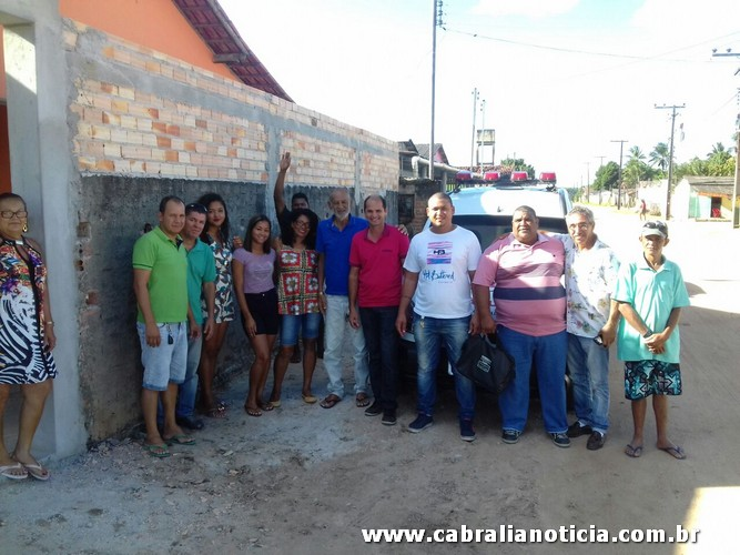 Prefeitura Entrega Ambulância para o Distrito de Ponto Central.