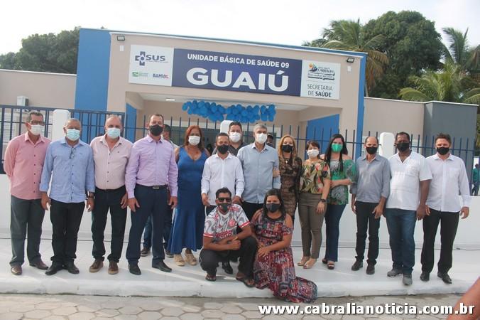 Mais uma importante obra foi entregue a população de Cabrália neste dia 23 de julho  em comemoração aos 188 emancipação política do município.