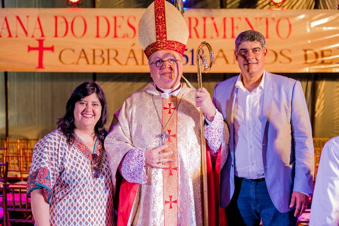 Fé, Festa e muita História na missa de celebração aos 518 anos em Cabrália