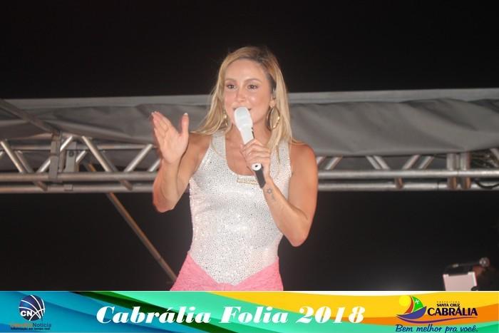 Foliões curtem o 1º dia com alegria e tranquilidade o Cabrália Folia 2018
