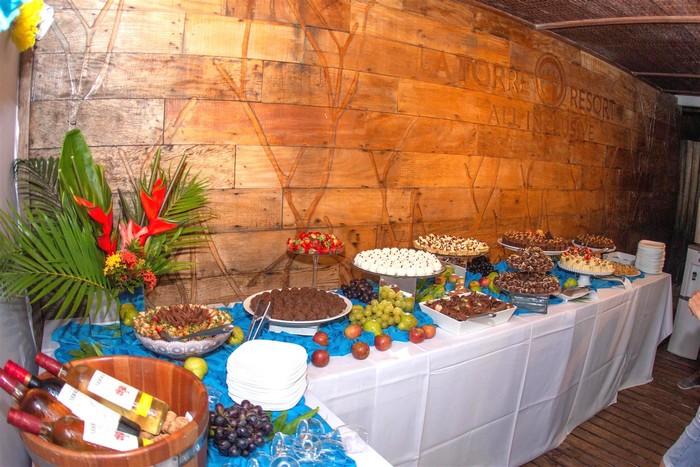 Estação das flores é celebrada com festa no La Torre Resort