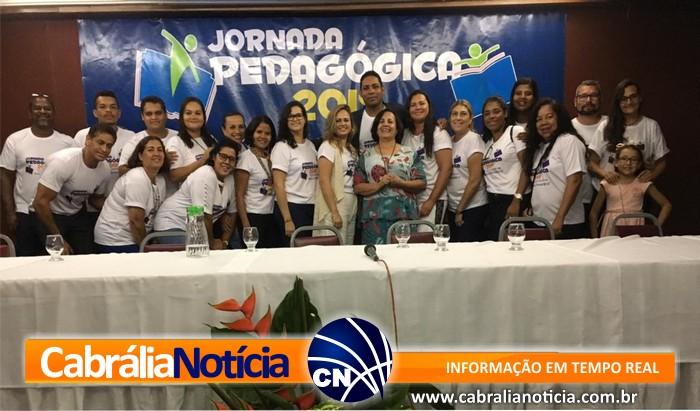 JORNADA PEDAGÓGICA 2019 EM SANTA CRUZ CABRÁLIA.