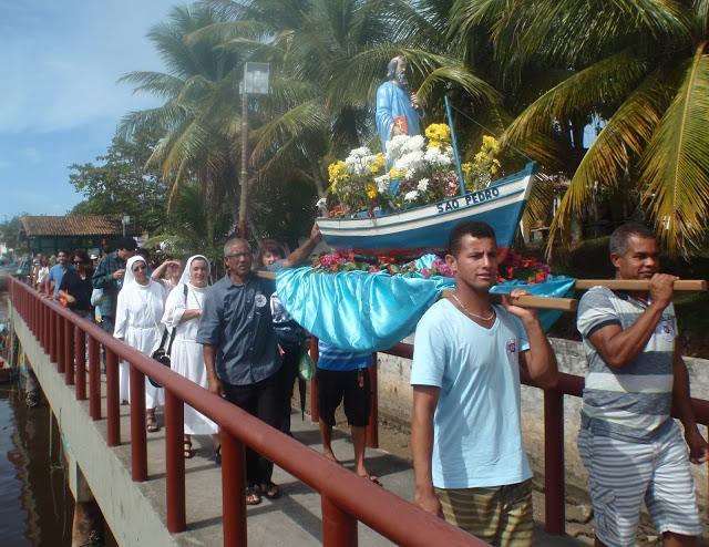 Padroeiro dos Pescadores - Cabrália comemora São Pedro