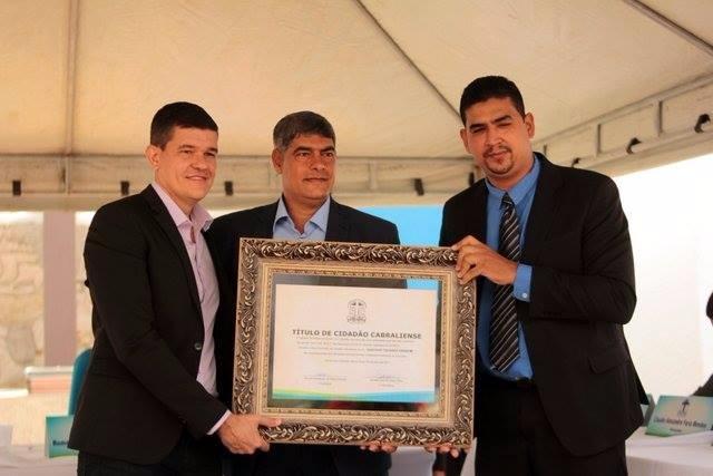 Pastor da Igreja Congregacional da Costa do Descobrimento recebe título de Cidadão Honorário
