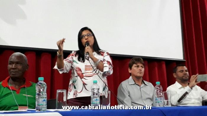 SECRETARIA DE SAÚDE MÁRCIA QUARESMA PARTICIPA DO SEMINÁRIO DOS AGENTES DE SAÚDE E ENDEMIAS EM PORTO SEGURO