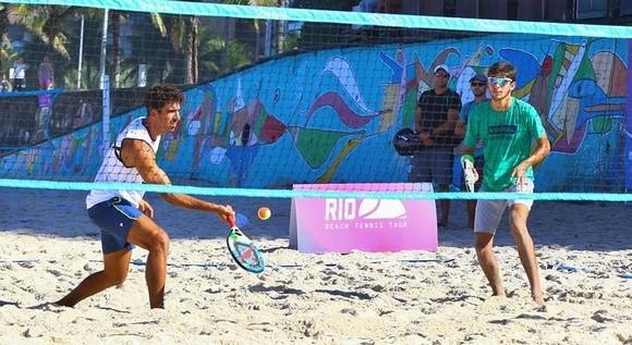 Baianos representam o Brasil no Pan-Americano de Beach Tennis em Santa Cruz Cabrália