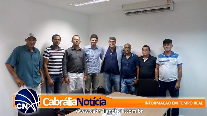Cajado se reúne com Prefeito e lideranças de projetos rurais de Cabrália.
