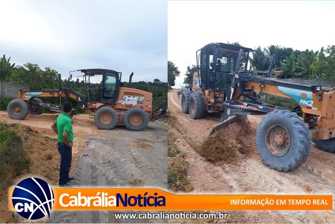 Prefeitura realiza melhorias nas estradas da zona rural do município