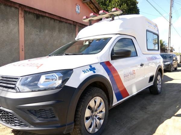 Prefeitura de Cabrália entrega ambulância em Ponto Central