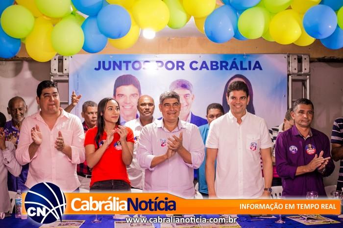 Agnelo(PSD) reúne multidão para apoiar seus candidatos