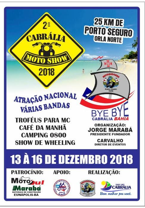2º EVENTO DE MOTOS  EM CABRÁLIA