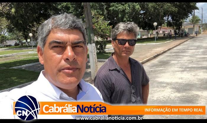 Infraestrutura em Cabrália tem novo secretário