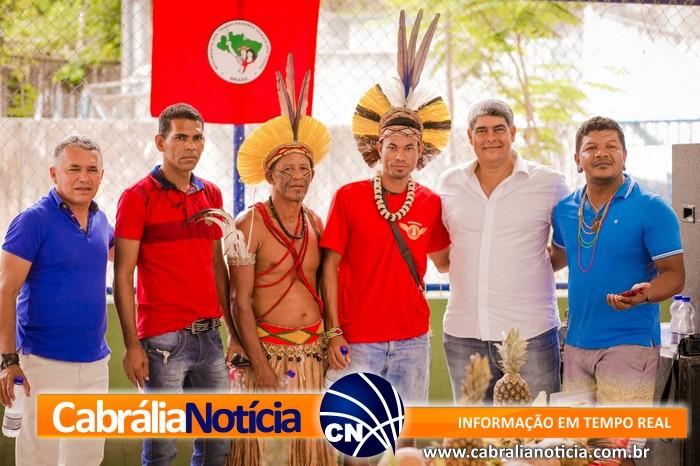 PREFEITO AGNELO PARTICIPA DE EVENTO DO MST EM CABRÁLIA