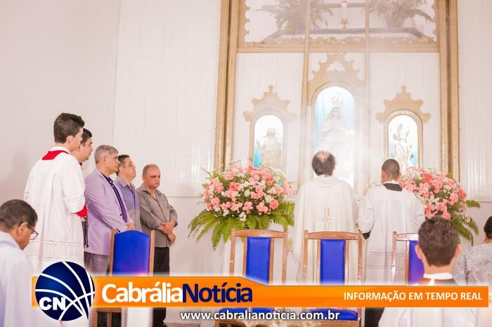 PREFEITO AGNELO PARTICIPA DO PRIMEIRO DIA DO NOVENÁRIO A PADROEIRA DA CIDADE