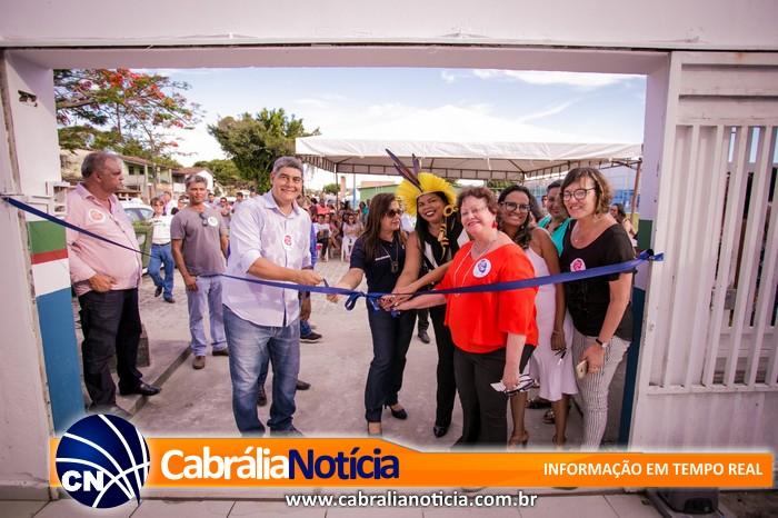 Centro de Atendimento à Mulher é inaugurado em Santa Cruz Cabrália