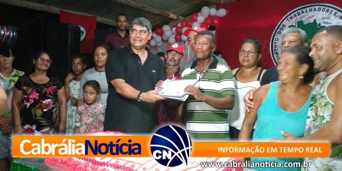 PREFEITO AGNELO PARTICIPOU DE EVENTO NO ASSENTAMENTO AGROECOLÓGICO GILDÁSIO SALLES EM CABRÁLIA.