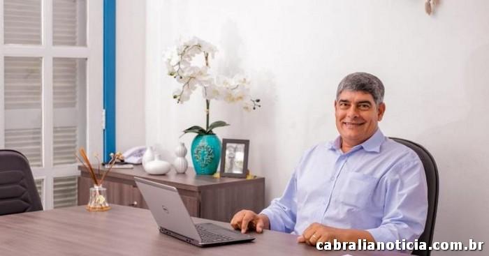 Cabrália tem um Prefeito que há 43 meses paga ao funcionalismo público em dia e antecipado