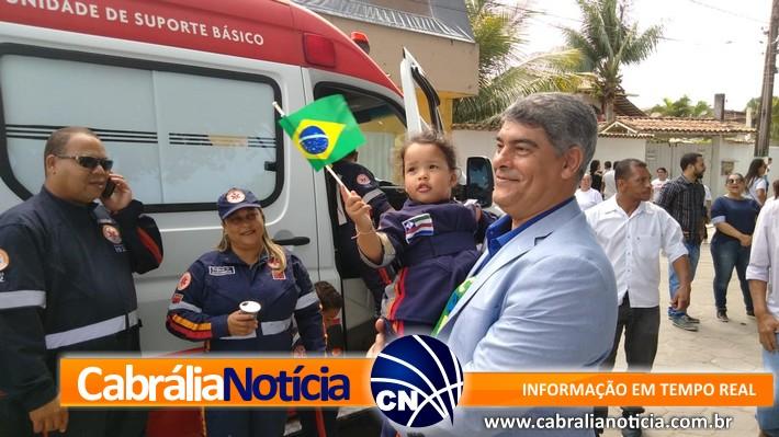 Cabrália comemora 7 de setembro no Campinho e no Mirante