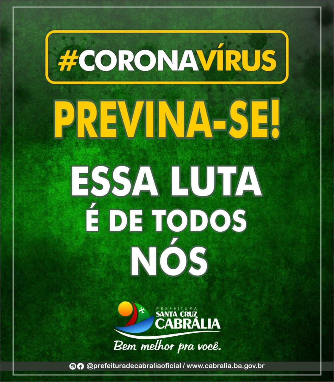 TODOS UNIDOS CONTRA O CORONAVIRUS