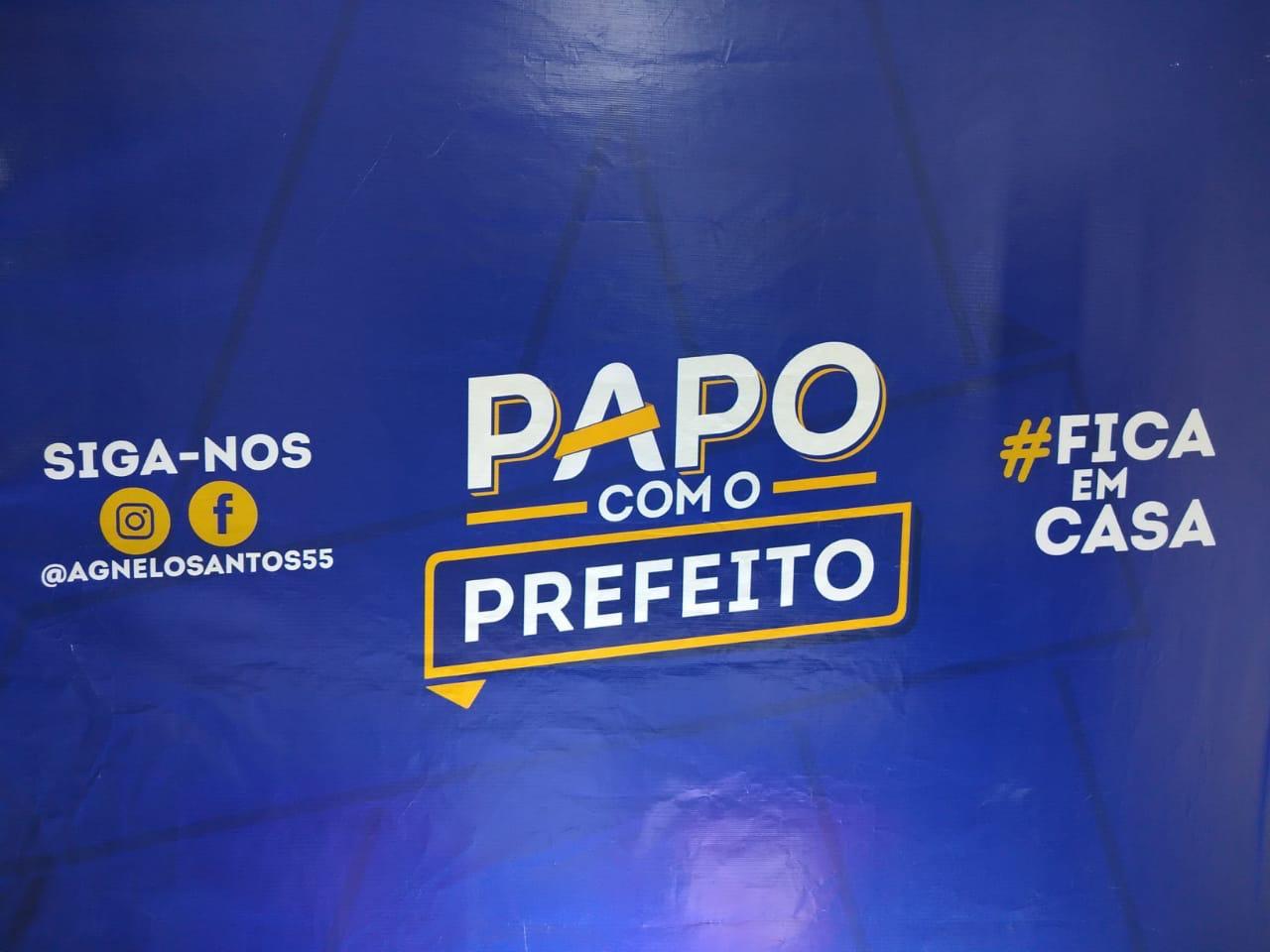 LIVE PAPO COM O PREFEITO AO VIVO