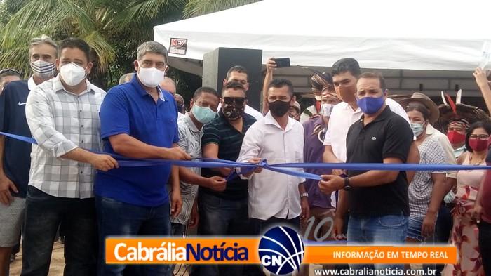 Prefeitura inaugura Sistema de Abastecimento de Água no distrito de Santo Antônio