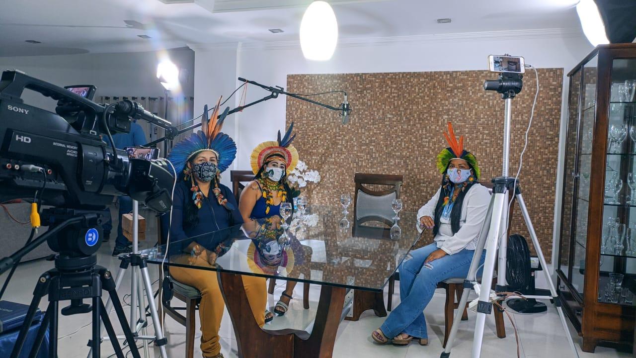 Mulheres indígenas e pré-candidatas a vereadoras são destaque na Live Papo com Agnelo.