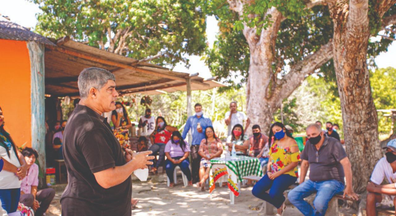 Reunião com lideranças femininas da comunidade Juerana demonstram apoio a reeleição de Agnelo Santos
