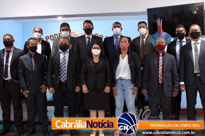 Câmara de Vereadores em Cabrália realizou Sessão Solene de abertura do ano legislativo