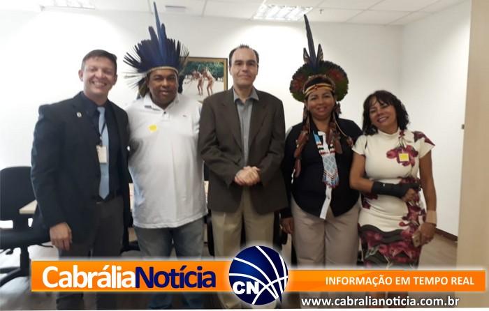 Secretário de Assuntos Indígenas  vai à Brasília atrás de soluções às comunidades