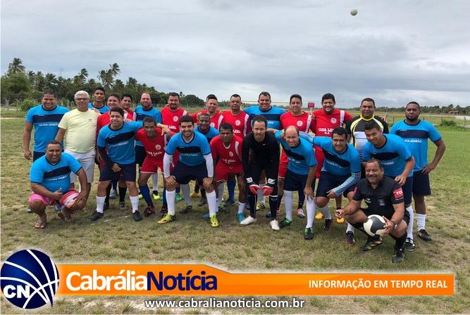 Durante amistoso entre Cabrália x Belmonte vereador lança candidatura a prefeito de Santa Cruz Cabrália