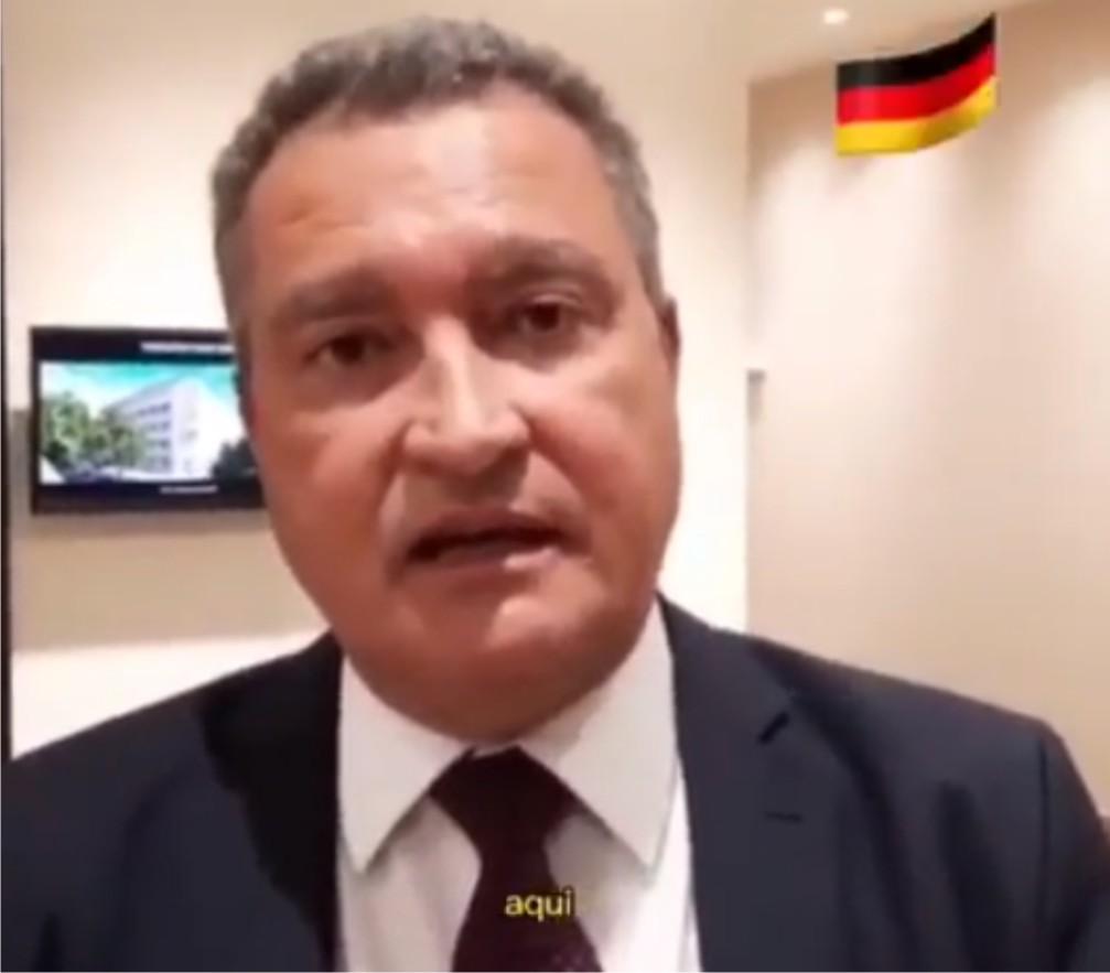 NA ALEMANHA GOVERNADOR RUI COSTA FALA DO AEROPORTO NA COSTA DO DESCOBRIMENTO