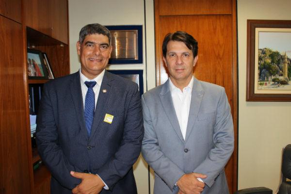 Prefeito cumpre uma agenda de audiências e reuniões em Brasilia