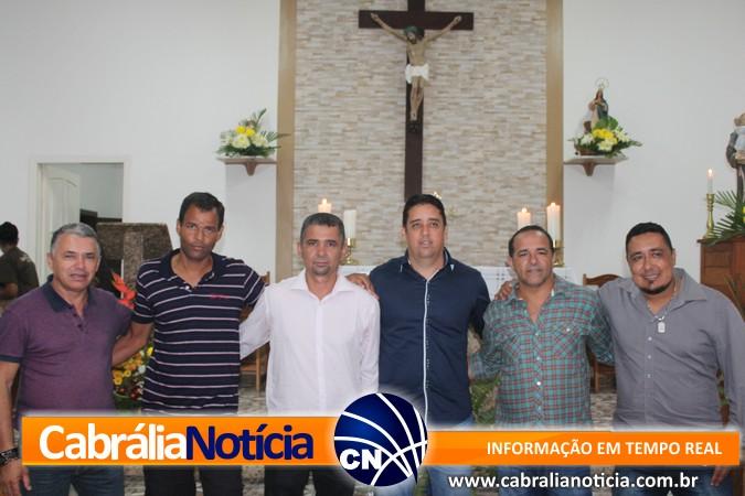 Prefeitura e Câmara participa de missa em homenagem ao poder público no Trezenário de Santo Antônio