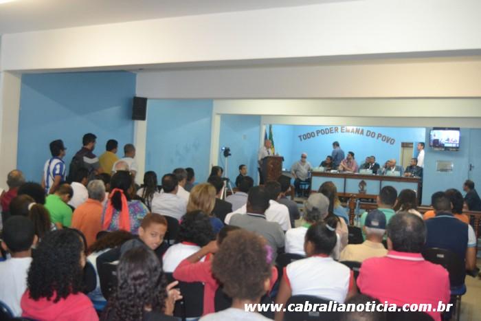 Gerente da Embasa é pressionado em Audiência Pública na Câmara Municipal