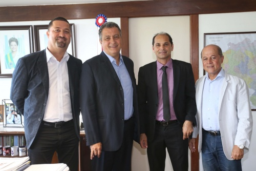 Prefeito Carlos Lero esteve em audiência com o governador Rui Costa
