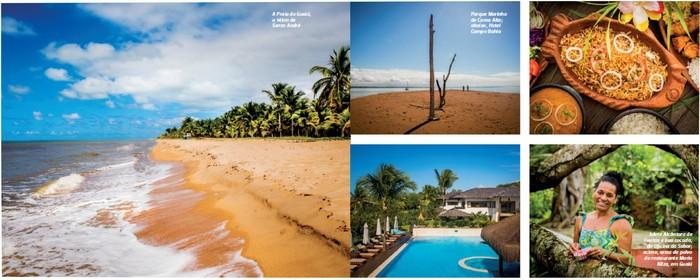 Cabrália é destaque como destino turístico na revista de bordo da companhia aérea Azul