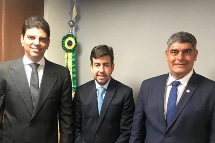 Prefeito Agnelo Santos, fechou com chave de ouro sua agenda de compromissos em Brasília