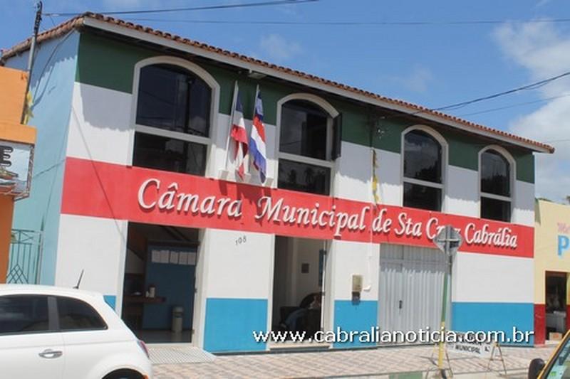 Câmara de Cabrália antecipa eleição da mesa diretora para o biênio 2019-2020