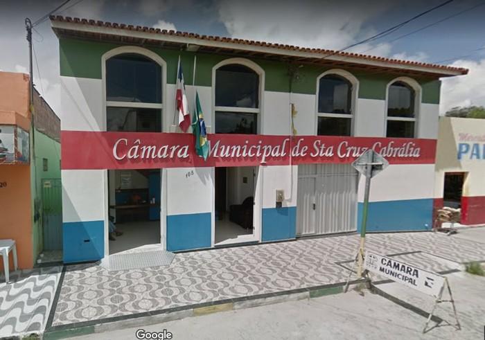 Mensagem do presidente da Câmara Municipal de Santa Cruz Cabrália