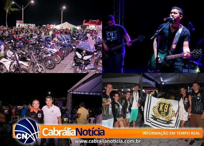 Começou nesta quinta-feira, em Santa Cruz Cabrália o Segundo Moto Show