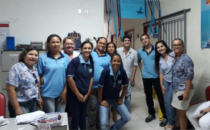 Cabrália Azul: Campanha Novembro Azul leva atendimento e palestras a unidades de saúde