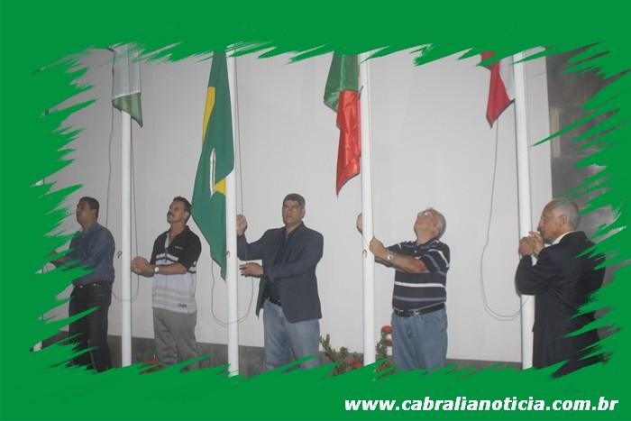 Prefeito Agnelo Santos reinaugura a Casa Belmonte em Cabrália.