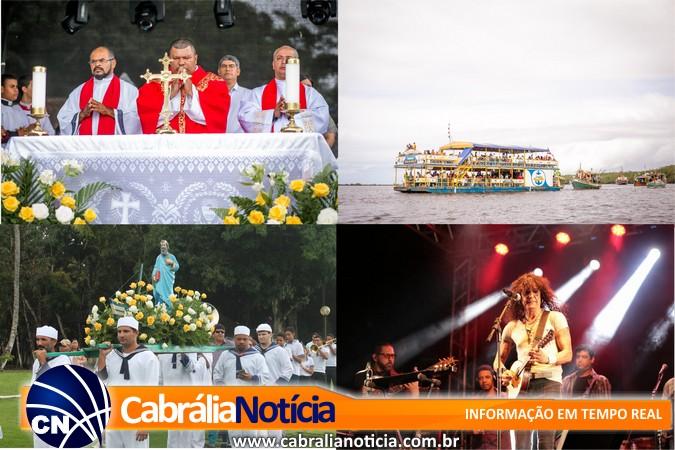 Prefeito, Pescadores e comunidade comemoram juntos São Pedro em Cabrália