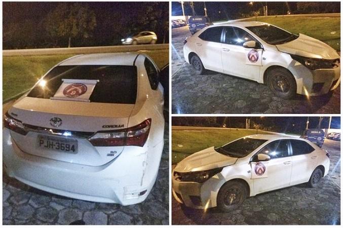 Polícia Militar apreende carro roubado que transitava pelo distrito de Coroa Vermelha
