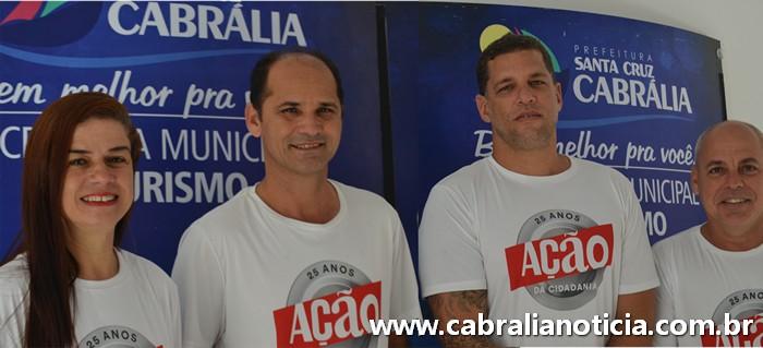 Cabrália participa da Ação da Cidadania Contra a Fome