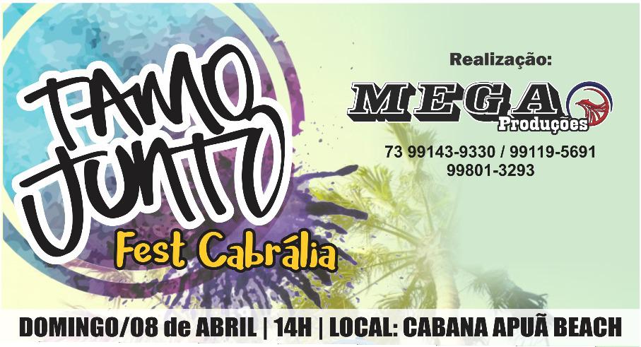 TAMO JUNTO FEST CABRÁLIA